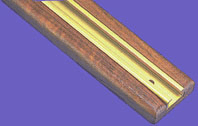 Du-Bro 2' Gold & Teak Trac for Rod Storage System