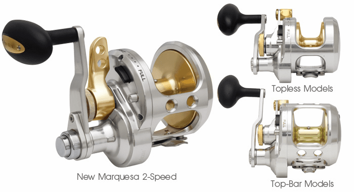 Fin-Nor MA50II 2-Speed Marquesa Reel