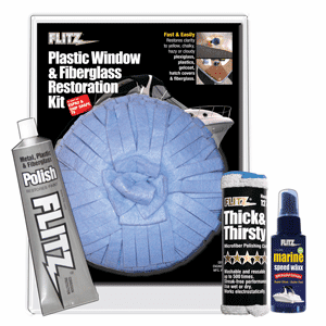 Flitz Plastic Window & Fiberglass Restoration Kit