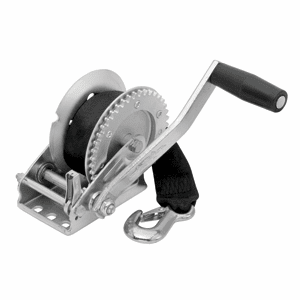 Fulton 1,500 lbs. Single Speed Winch with Strap