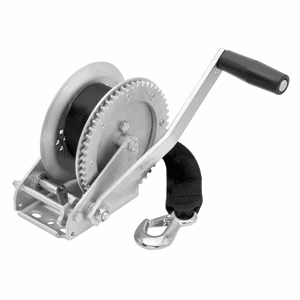 Fulton 1,800 lbs. Single Speed Winch with Strap