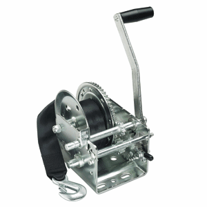 Fulton 2,000 lbs. 2-Speed Strap Winch with Strap - HP Series