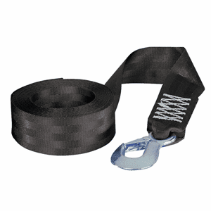 "Fulton 2"" x 12' PWC Winch Strap and Hook - 1,800 lbs. Working Load"