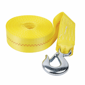 "Fulton 2"" x 20' Heavy Duty Winch Strap and Hook - 4,000 lbs. Max Load"