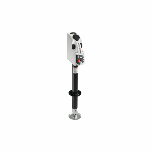 Fulton Bulldog 4000 lbs. A-Frame Jack w/12V Powered Drive, Built-in Level & Corrosion-Resistant Surfaces