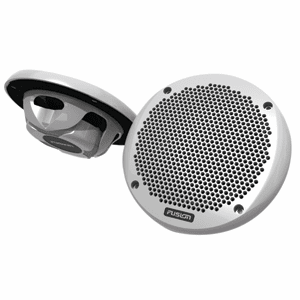 "Fusion 6"" Shallow Mount Speaker - (Pair) White"