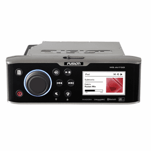 FUSION AV750 Marine Entertainment System w/Integral DVD Player