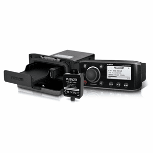 FUSION MS-RA205USP Ultimate Stereo Pack w/MS-RA205, MS-UNIDOCK, MS-BT100 & MS-RA200MP