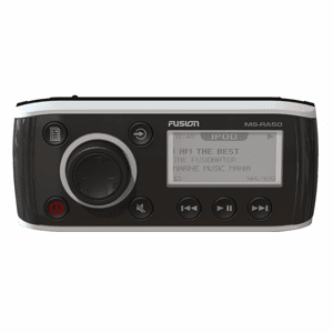 FUSION MS-RA50 Marine AM/FM/iPod/iPhone Ready Receiver - 4 x 45W
