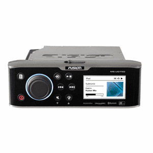 FUSION UD750 Color Display Marine Entertainment System w/UniDock & Bluetooth