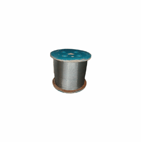 "Galvanized Steel Cable 1/8"" 5,000' Bulk Spool"