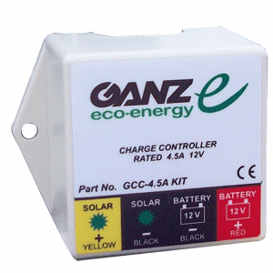 Ganz Eco-Energy Charge Controller Kit