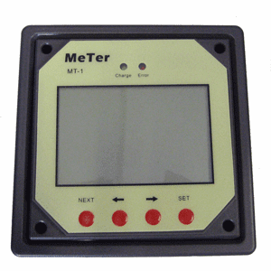 Ganz Eco-Energy Remote Meter f/Dual Charge Controller
