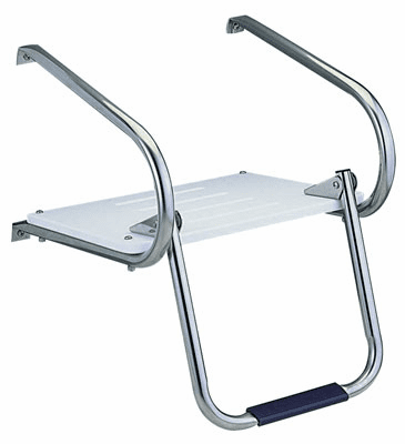 Garelick I/O Swim Platform with Fold Down Ladder Step