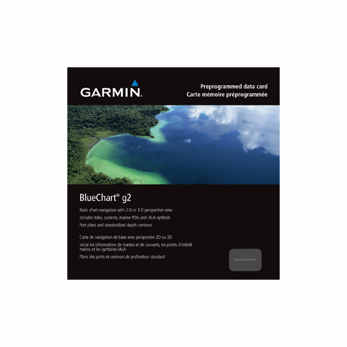 Garmin Bluechart G2 South America - Micro SD / SD