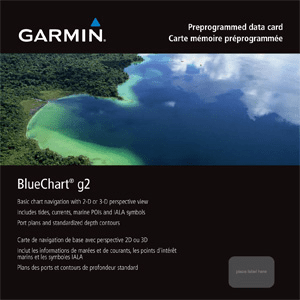 Garmin Bluechart G2 US Charts - Mini SD Card
