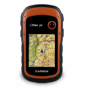Garmin Etrex 20 Handheld GPS Color Display