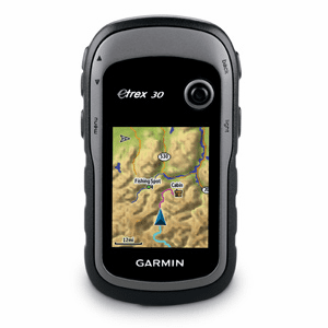 Garmin Etrex 30 Handheld GPS Color Display with Sensors