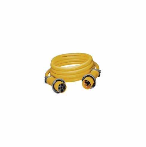 Hubbell CS754 100AMP 3 Wire 75' 125/250V Shore Cord