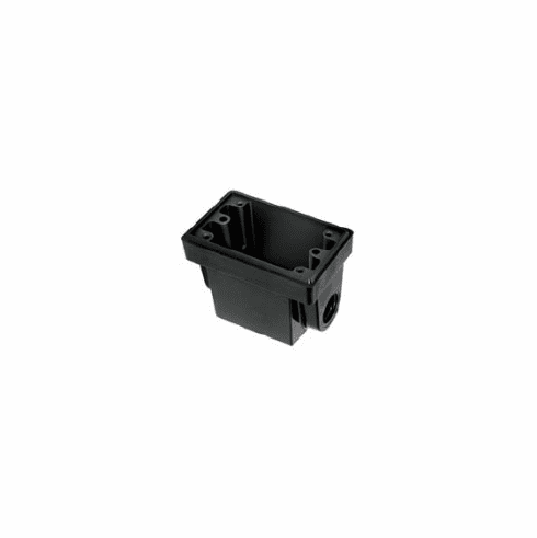 Hubbell HBL-6080 EO Box with 3/4 Knock Box