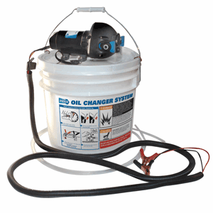 Jabsco DIY Oil Change System with Pump & 3.5 Gallon Bucket