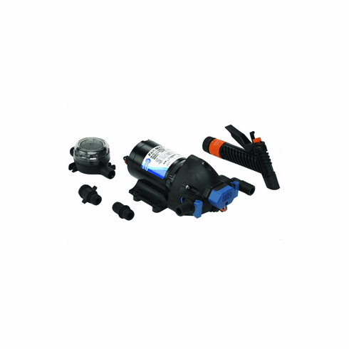 Jabsco Par-Max Washdown Pump Kit - 4.0GPM-60psi-12VDC - Includes Strainer
