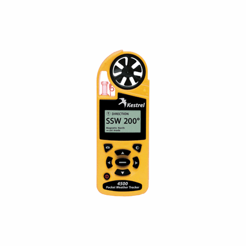 Kestrel 4500 Pocket Weather Meter - Yellow