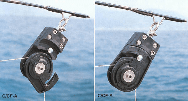 Kristal C/CF-A Open Block / Pulley for Deep Drop Rods