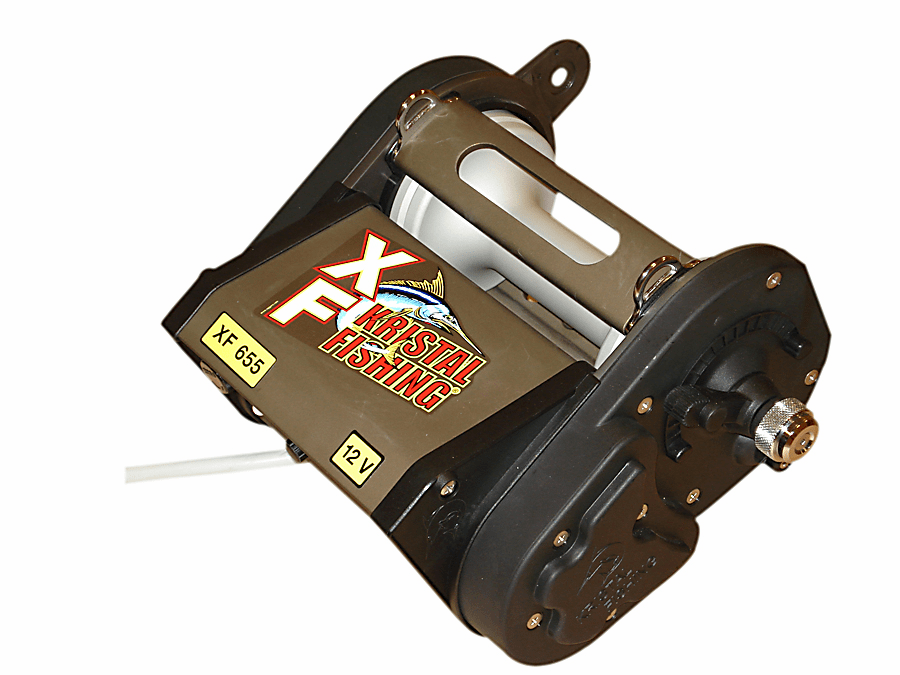 Kristal Fishing XF655DM Extreme Fishing Reel Programmable with Manual Override and Levelwind