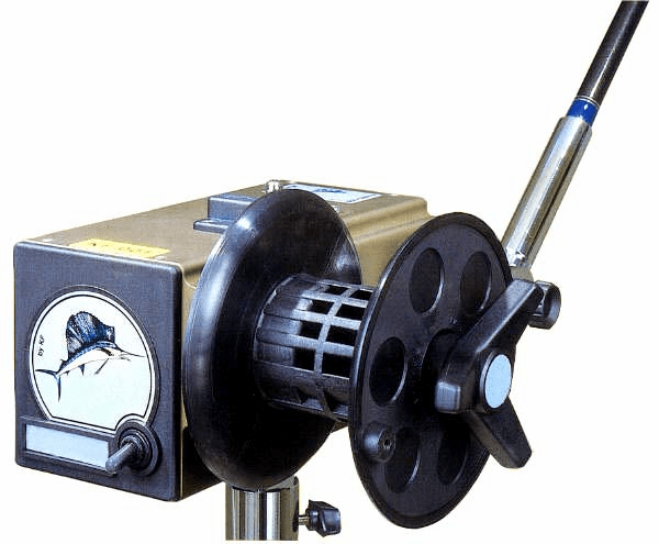 Kristal KF001 Electric Reel & Rod - Commercial Configuration
