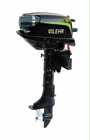 "Lehr Marine 5.0 HP Propane Outboard Engine - Long Shaft (20"")"