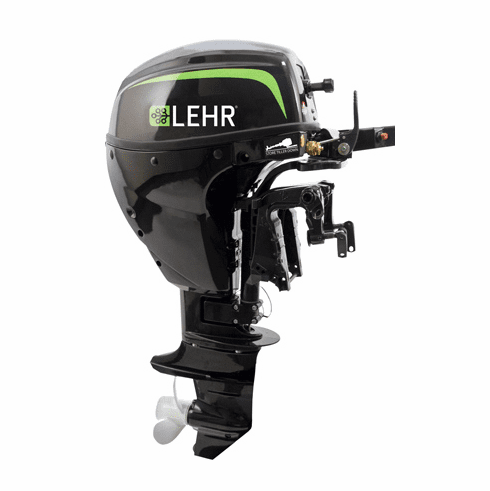 "Lehr Marine 9.9HP Propane Outboard Engine 15"" Shaft"
