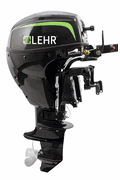 "Lehr Marine 9.9HP Propane Outboard Engine 20"" Shaft"