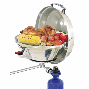 Magma Marine Kettle 2 Stove & Gas Grill Combo - Original Size 15""