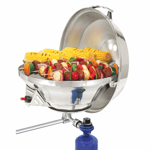 Magma Marine Kettle 2 Stove & Gas Grill Combo - Party Size 17""