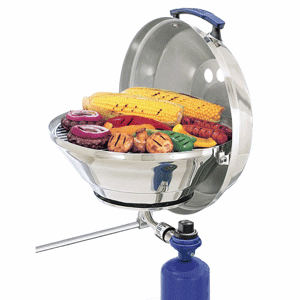 "Magma Marine Kettle Gas Grill Original 15"" with Hinged Lid"