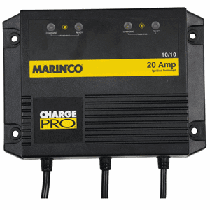 Marinco On-Board Battery Charger - 20A - 2 Bank - 120V
