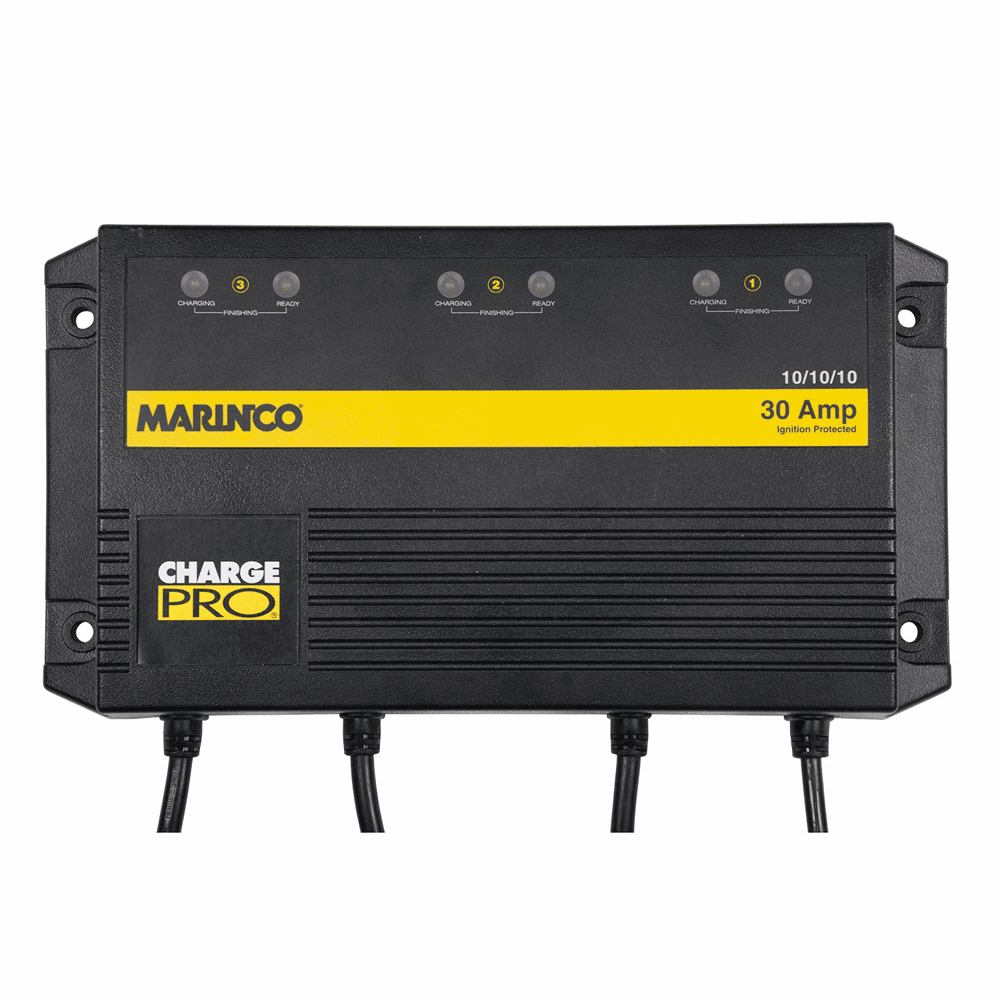 Marinco On-Board Battery Charger - 30A - 3-Bank - 120V