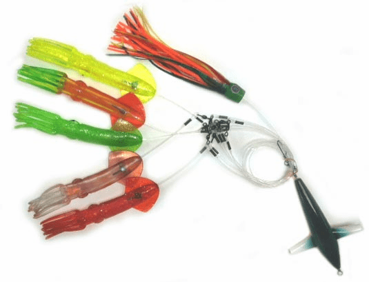 """MFS Large 12"""" Squid Chain Teaser with Bird"""