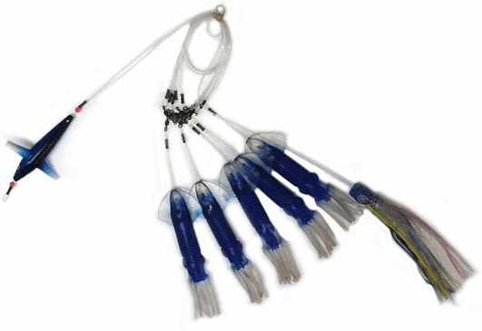 """MFS Small 9"""" Squid Chain Teaser with Bird"""