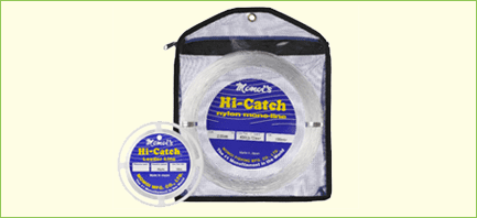 Momoi's Hi-Catch Nylon Monofilament Leader Line 50yd Spools