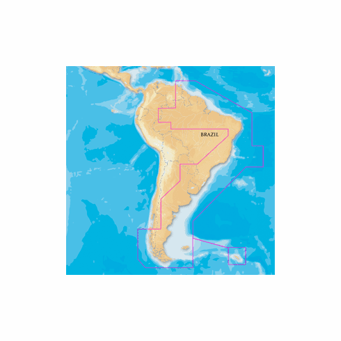 Navionics Platinum SD Card - South America