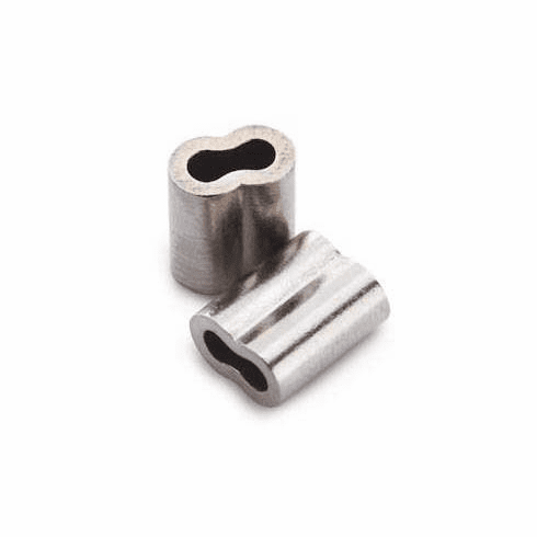 Nickel Plated Copper Double Sleeves 1.6mm