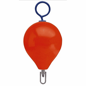 "Polyform Mooring Buoy with Iron 17"" Diameter"