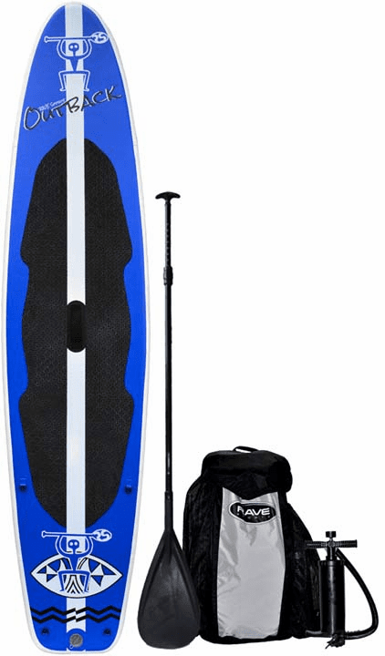 "RAVE Outback Inflatable SUP Stand Up Paddle Board - 10'6"" - While Supplies Last"