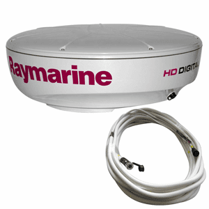 Raymarine RD424HD 4kW Digital Radar Dome w/10M Cable