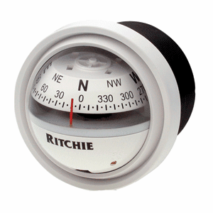 Ritchie V-57W.2 Explorer Compass - White