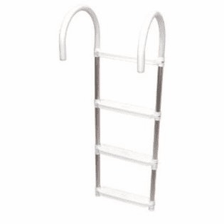 Shoreline Marine 3-Step Folding Boat Ladder