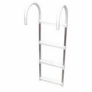 Shoreline Marine 4-Step Folding Boat Ladder