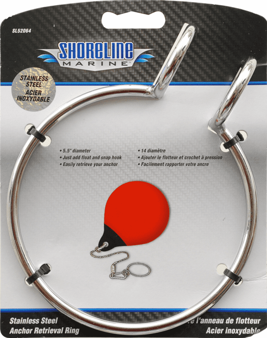Shoreline Stainless Anchor Retrieval Ring